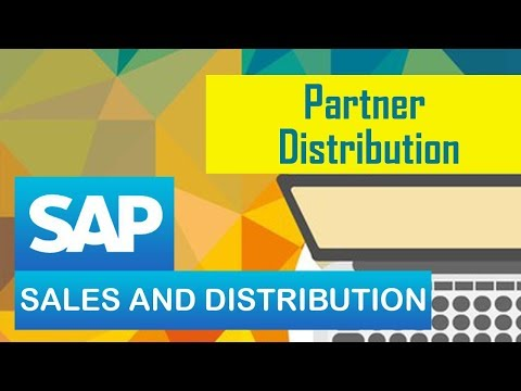 SAP Sales & Distribution/ Partner Distribution.