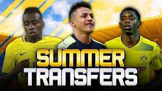 SUMMER TRANSFERS! w/ DORTMUND SET DEMBELE TO BARCA DEADLINE! - FIFA 18 ULTIMATE TEAM