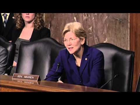 Elizabeth Warren HELP Committee Hearing Q&A - State Leadership in Disability Employment