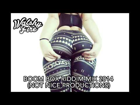 Boom Box Riddim MIx (Not Nice Productions) Dancehall 2014   WalshyFire Presents...