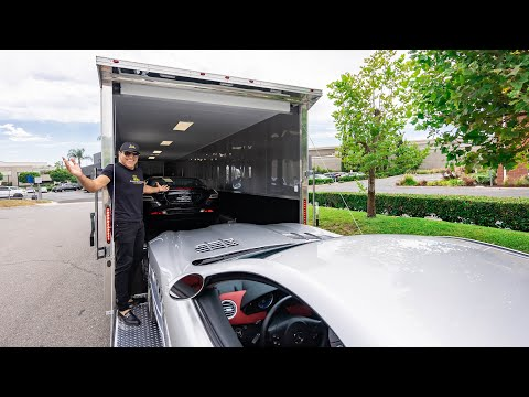 TAKING DELIVERY OF MY 7TH AND 8TH MCLAREN SLR! || Manny Khoshbin