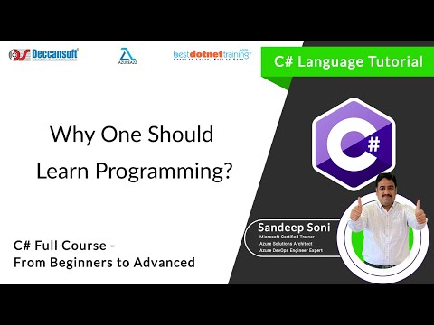 C# Tutorial | Why Learn Programming ? thumbnail