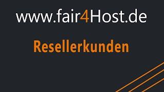 fair4Host | Resellerkunden