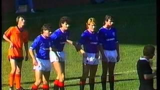 Rangers v Dundee Utd 29 Sept 1984