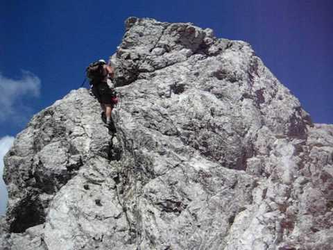 Klettersteig Innsbruck Nordkette : Innsbrucker klettersteig nordkette innsbruck avi youtube