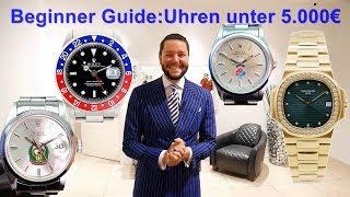 Beginner Guide: Uhren unter 5.000€ bis zur Vintage Patek Philippe