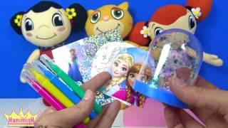 Canım kardeşim çizgi film karakterleri ile Karlar ülkesi Frozen oyuncaklı dergiden Kar Küresi çıktı