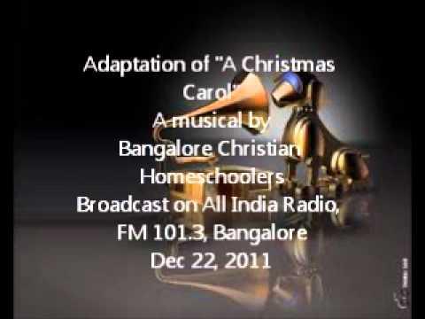 """Christmas Musical - Adaptation of """"A Christmas Carol"""""""