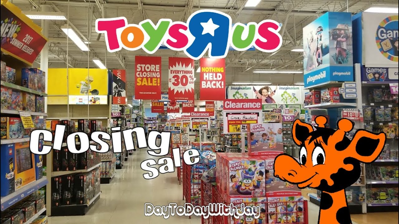 Toys R Us Is Closing Has A Clearance Sale Youtube