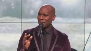 "Tyrese Sings ""Sweet Jesus Child"" For REVOLT"