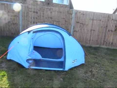 2 Person Tent Vango Pop 200 Tent