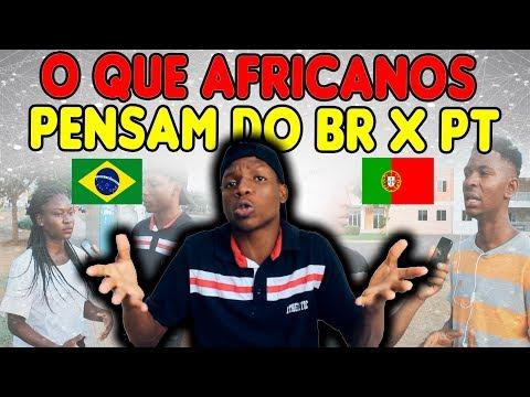 O QUE AFRICANOS PENSAM DO BRASIL E PORTUGAL#2