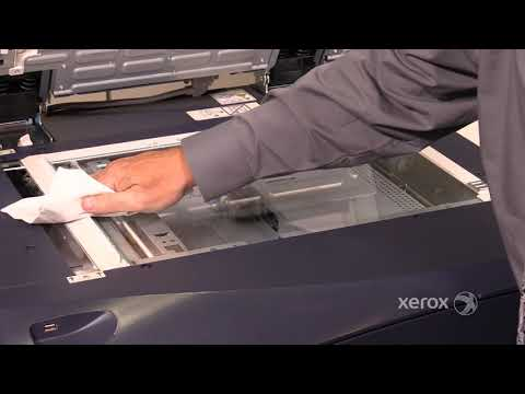 Xerox® Versant® 80 180 Color Press Cleaning the CVT Glass