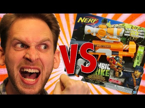Nerf Zombie Strike Clear Shot Unboxing