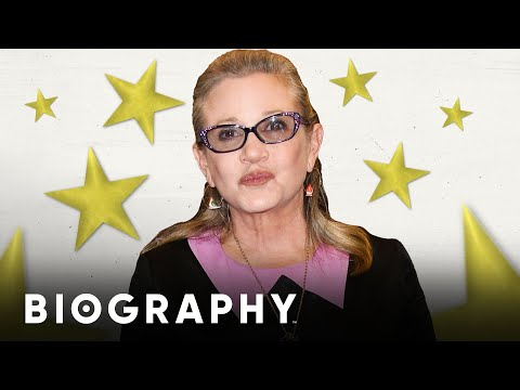 Carrie Fisher: Movie Star & Uncredited Script Doctor | Biography