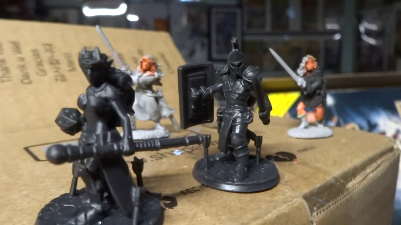 Bob's From the Basement: Hero Forge Miniatures came in today 3/24/18