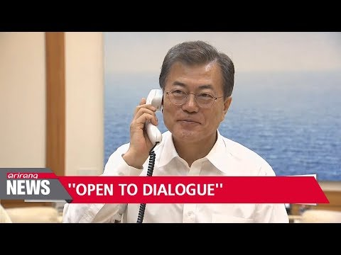 Moon, Trump agree South Korea, North Korea dialogue could lead to U.S., North Korea talks for...