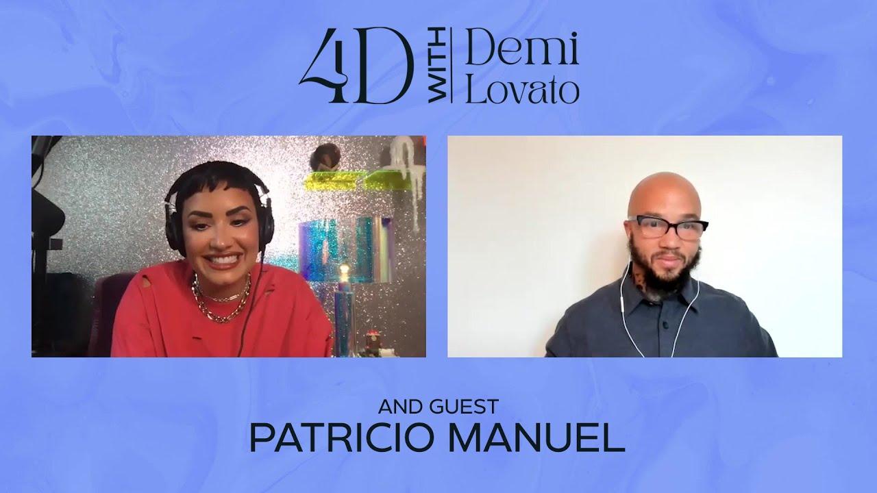 4D With Demi Lovato - Guest: Patricio Manuel