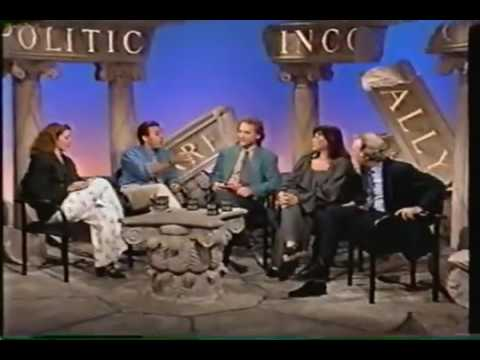 Politically Incorrect w/ Bill Maher - 09-19-1993 (ft- Roseanne Barr, Matt Lauer, + others)