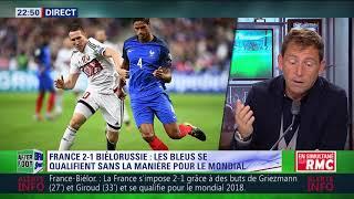 After Foot du mardi 10/10 – Partie 1/4 - Débrief de France/Biélorussie (2-1)