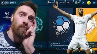 FIFA MOBILE 19 ''DREWNIANY'' BENZEMA W CAMPAIGN *masakra*