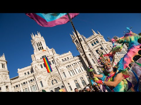 World Pride Madrid 2017 Manifestación Orgullo Gay LGTB Parad