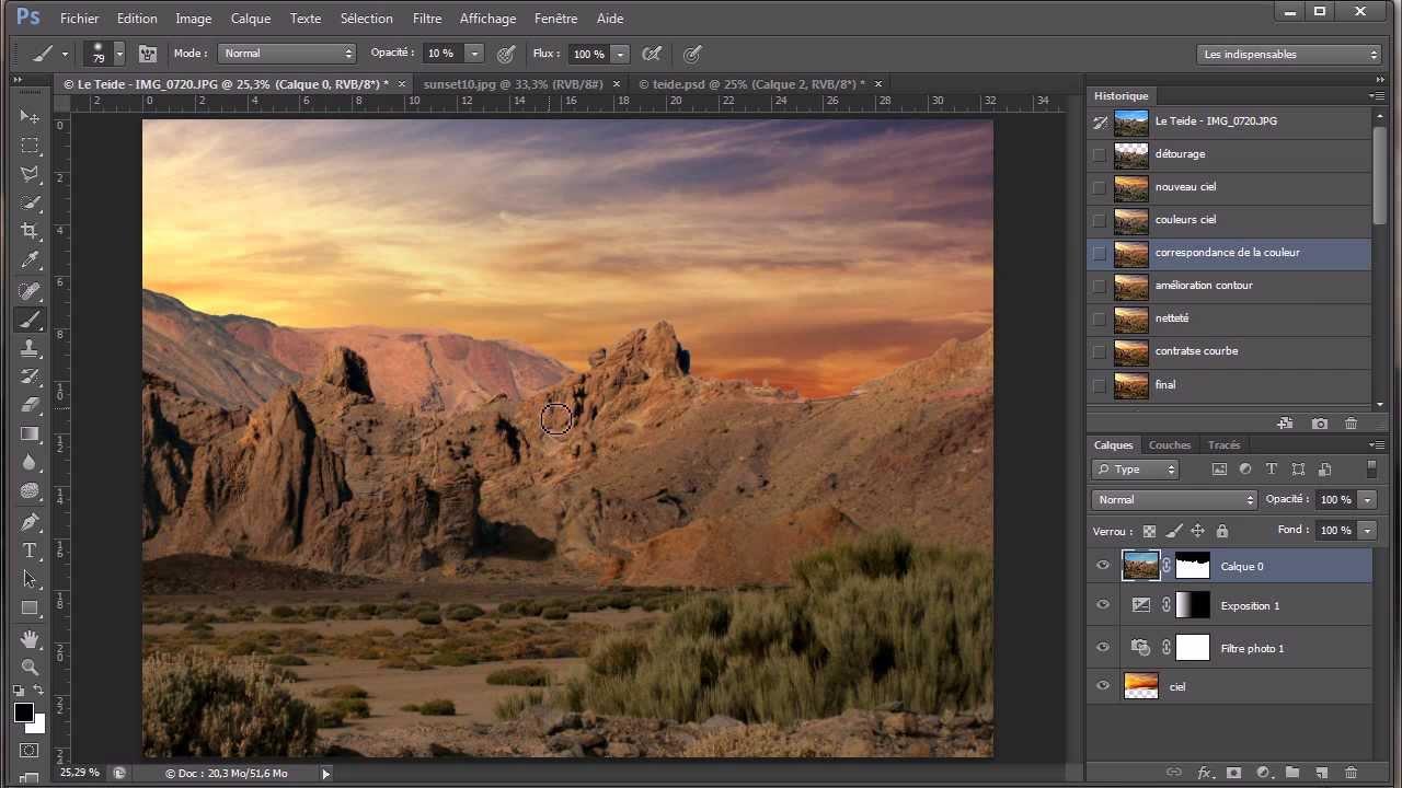 Tutoriel Photoshop Cs6 Changer Le Ciel Et Sublimer Le