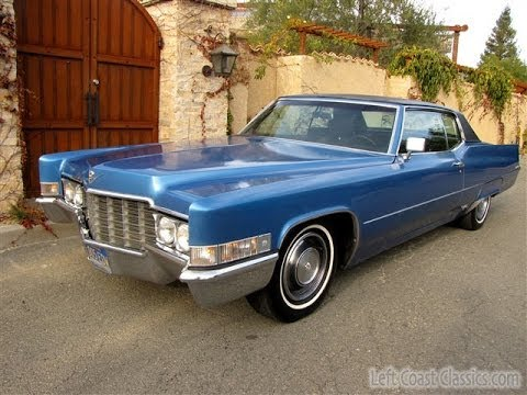 Classic Cadillacs For Sale >> 1969 Cadillac Coupe DeVille for Sale: Classic Caddie CDV ...