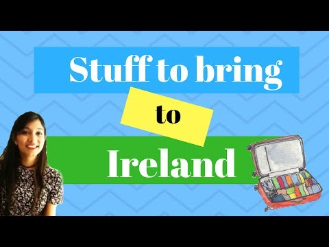 Stuff To Bring To Ireland| 5 Essentials You Need To Pack | Ruhie