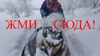 Снегоход Тайга 550 swt против снегохода Поларис Widetrak в ,,пухляк,,.