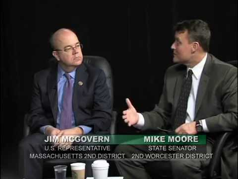 An Interview with Congressman Jim McGovern and Senator Mike Moore- March 28, 2014