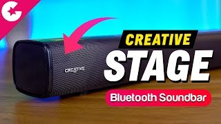 Best Budget SoundBar?? Creative Stage 2.1 Soundbar Review!!