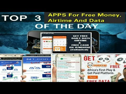 Top 3 Best Apps To Earn Free Money, Airtime And Data For Android