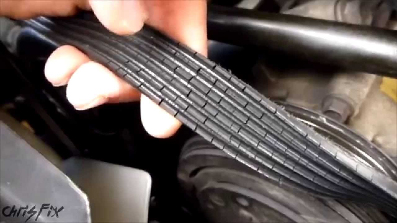 How To Fix A Squeaky Belt Figure Out Where The Squeak Is Coming 98 Camry Engine Diagram From Youtube