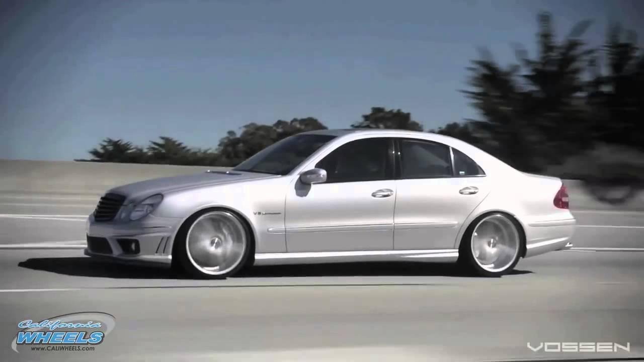 All Types 2003 mercedes e55 amg : Mercedes Benz AMG E55 on 20 Vossen VVS CV5 Concave Wheels Rims ...
