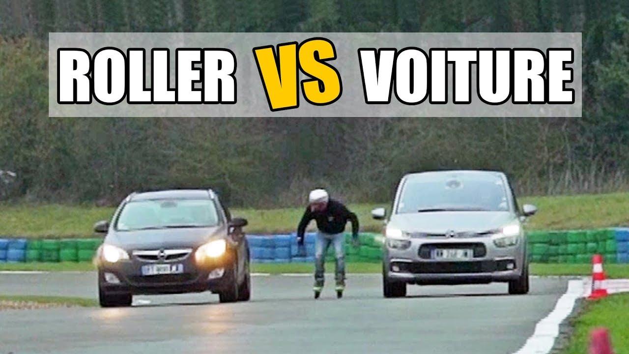 DEFI ROLLER : passer d'une voiture à une autre à 70 km/h ! (feat. Lamine Fathi)