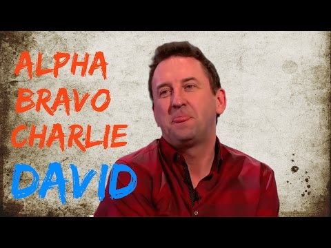 Lee Mack and the Phonetic Alphabet - Would I Lie to You? [HD] [CC]