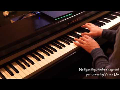 Nelligan (by André Gagnon) [piano w/ sheet]