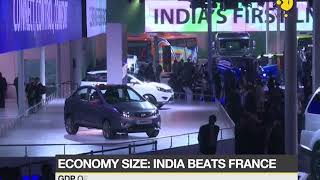 India beats France to become sixth largest economy