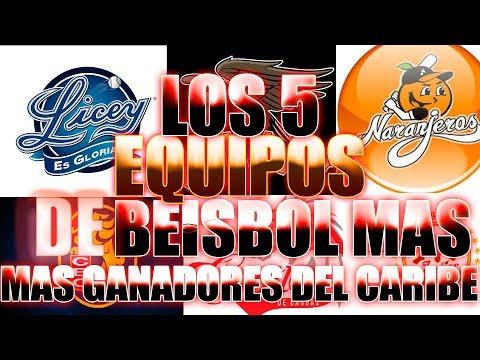 Los 6 Equipos De Béisbol Más Ganadores Del Caribe