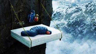 חדר במלון הכי מסוכן בעולם.. הוא נפל בזמן שהוא ישן!!!!!!