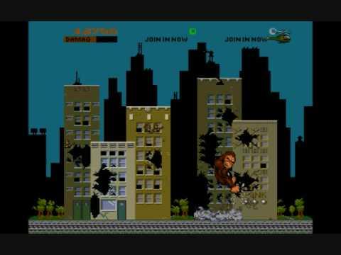 MAME: Rampage (Original Arcade game)