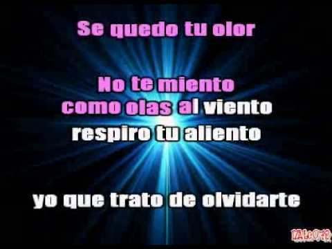 El Bambino - Mi cama huele a ti (karaoke)
