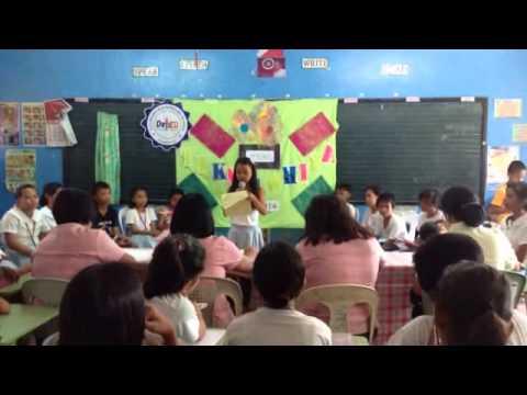 San Pedro Elementary School Hekasi V class debate