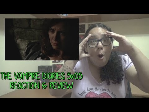 "The Vampire Diaries 5x05 REACTION & REVIEW ""Monster's Ball"" S05E05 