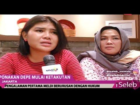 Image of Dipolisikan Dewi Perssik, Meldi Mengaku Ketakutan - iSeleb 09/11