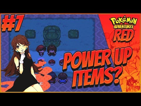 POWER UP ITEMS? - Pokemon Adventures: Red Chapter Part 7 | BETA 13