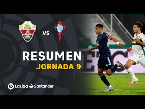 Resumen de Elche CF vs RC Celta (1-1)