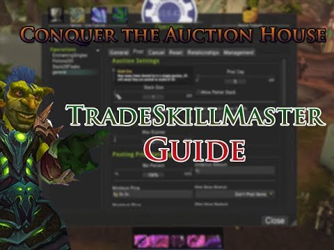 Beginners guide on how to setup TradeSkillMaster to accelerate auction  house posting/selling in WoW