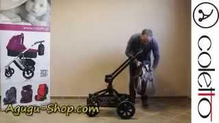Видеообзор детской универсальной коляски Coletto Marcello - Agugu-shop.com